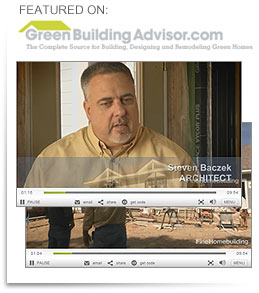 "Watch Steve Baczek ""Passive House Episode One"""